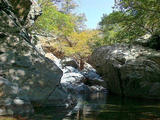 Xiropotamos Natural Pools: Πηγές Ξηροπόταμου