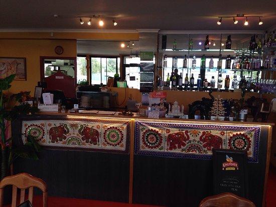 Whangamata, Nova Zelândia: Dine in and Bar area..