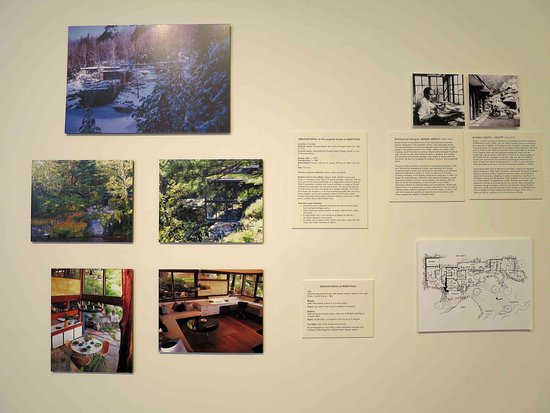 Putnam History Museum: Display on Manitoga (nearby)