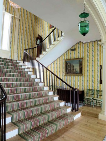 Garrison, NY: Boscobel House - Main stairs