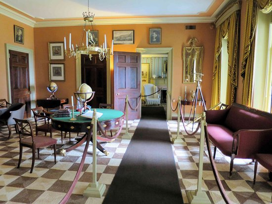 """Garrison, NY: Boscobel House - upstairs """"man cave"""" or game room"""