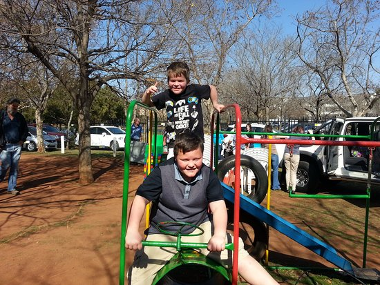 Centurion, Güney Afrika: Little playground for the children