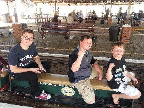 Centurion, Güney Afrika: On the train