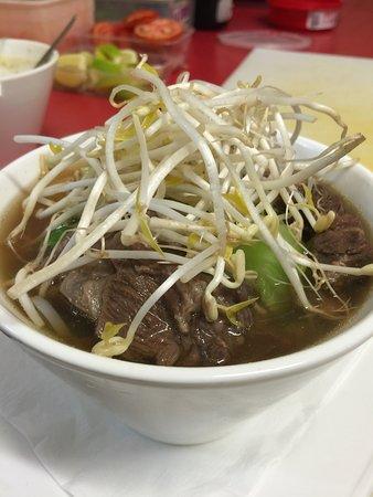 Menu Thai Restaurant: Slow cooked beef noodle soup