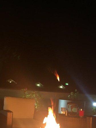 Fire Pit Picture Of Hilton Garden Inn Charleston Mt Pleasant Mount Pleasant Tripadvisor