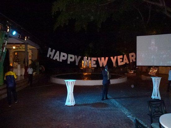 Bavaro Princess All Suites Resort, Spa & Casino : Встреча нового года