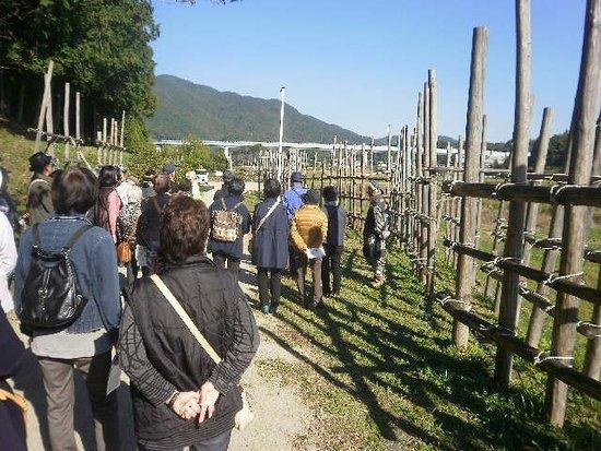 Shitaragahara History Museum : 馬防柵再現地