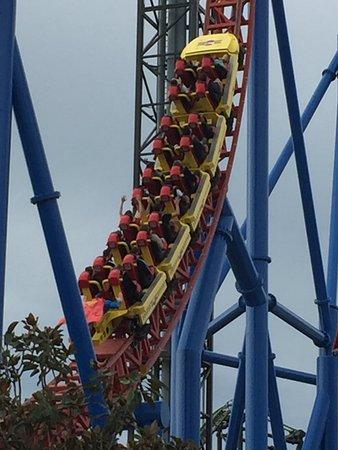 The superman escape ride at movie world picture of warner bros movie world the superman escape ride at movie world gumiabroncs Choice Image