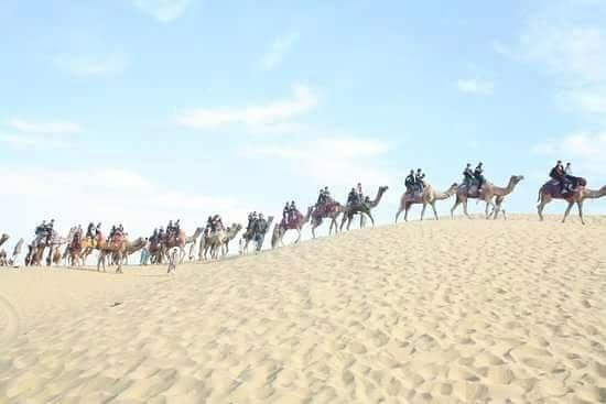 Jaisalmer Desert Camp: desert dafari