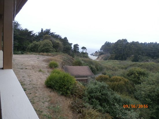 Pine Beach Inn: view from lanai/room 55