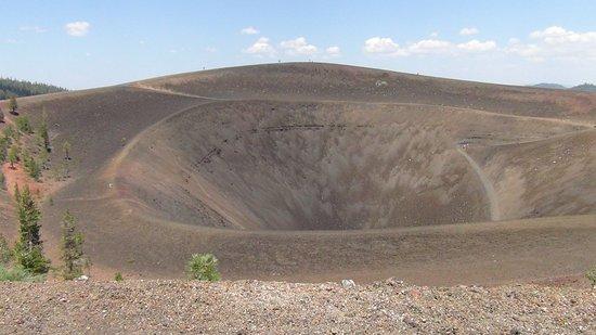 Mineral, CA: Cinder Cone Caldera