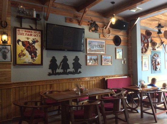 Why Not Bar & Restaurant: Bar decor
