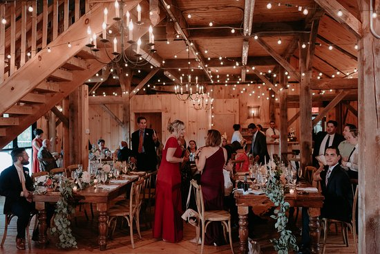 Buttermilk Falls Inn & Spa: Barn Reception Site (Photo from Jesse Pafundi, Golden Hour Studios)