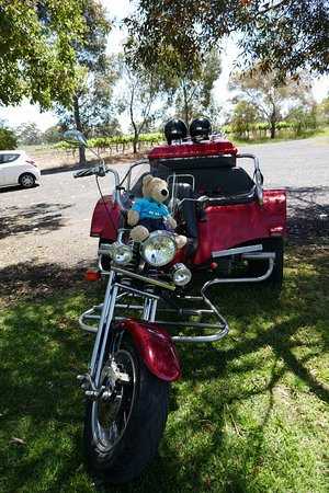 Trike Adventures: Cool Red Trike