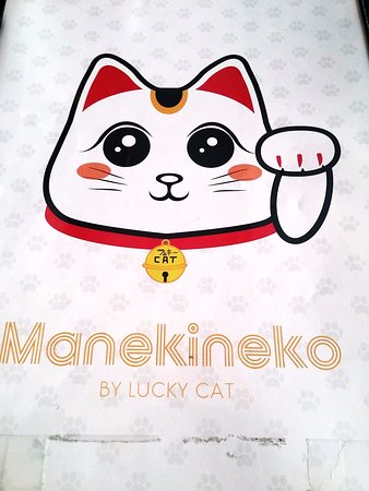 lucky cat restaurant name
