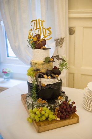 Arch House Deli Our Cheese Wedding Cake