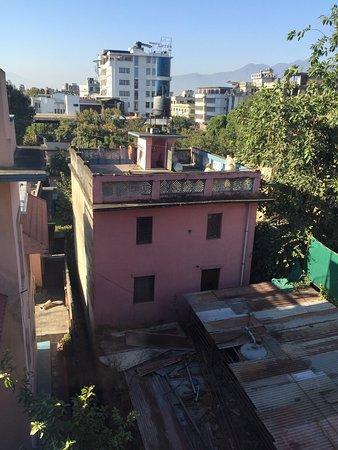 ذا دواريكاز هوتل: View from our junior suite on the 3rd floor. Ask for courtyard view!