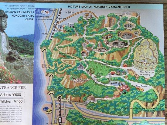 Image result for nokogiriyama map