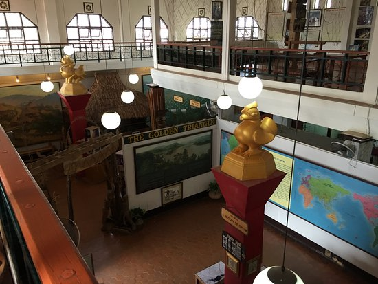 Hall of Opium in Chiang Sean - Picture of House of Opium Museum, Chiang Saen ...