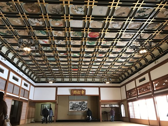 Eiheiji-cho, Ιαπωνία: 素晴らしい天井の絵