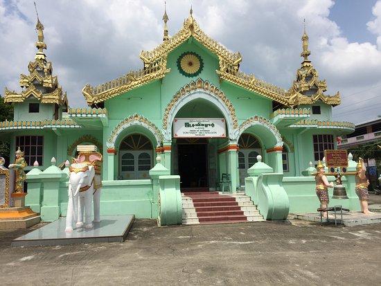 Enrobed Elephant Temple