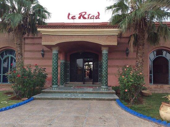 Hotel Le Riad: Ingresso