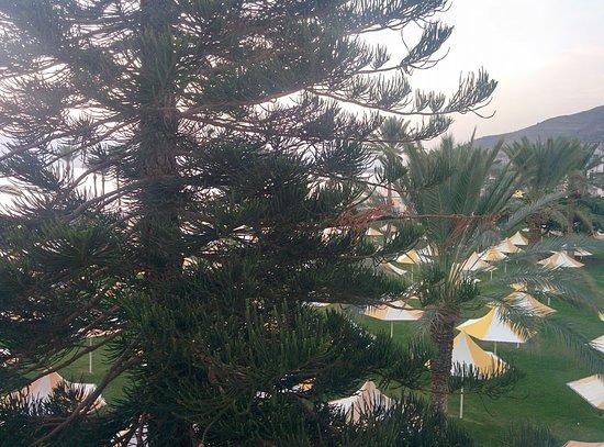 Gai Beach Resort Spa Hotel: מבט מהחדר על חוף גיא.