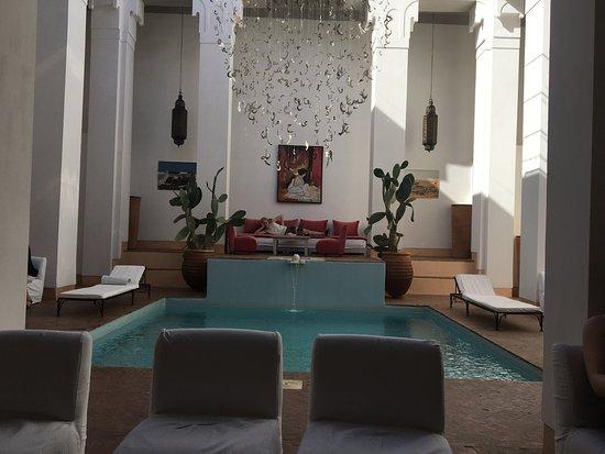 Terrasse Riad Picture Of Riad Spa Al Jazira Marrakech