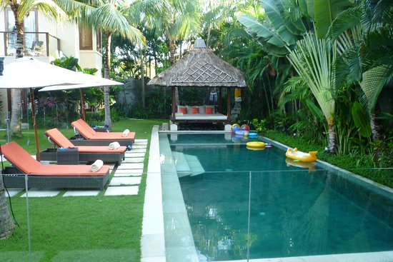 The Pool With Glass Safety Fence Picture Of Villa Suar Seminyak