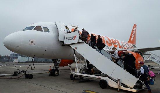 easyJet: Our aeroplane.