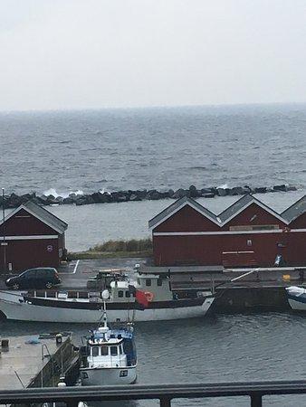 Hasle, Dänemark: Härlig utsikt från vårt rum