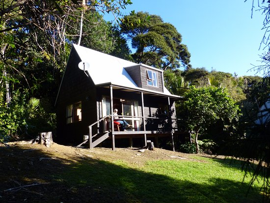 Great Barrier Island, Nuova Zelanda: One of the cottages