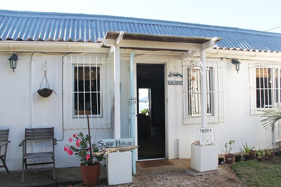 Umzumbe, South Africa: The Surf House Entrance