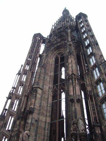 Catedral de Notre Dame de Estrasburgo: Le sommet de la cathédrale