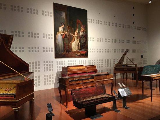 Musée de la musique : Ensemble d'instruments