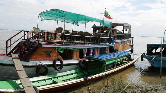 Mandalay Region, Birmânia: Bootfahrt in mandalay