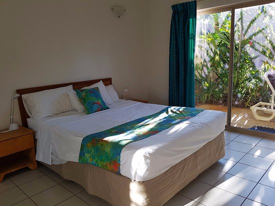 Wongaling Beach, Australia: Bedroom with patio