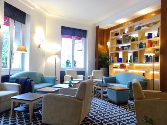 Eden Hotel Geneva : Hotel lobby