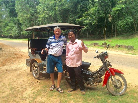 Sok Ly Siem Reap Tuk Tuk Driver