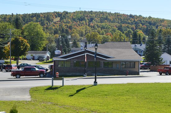 Fort Kent, ME: Rock's diner and start of route 1 south