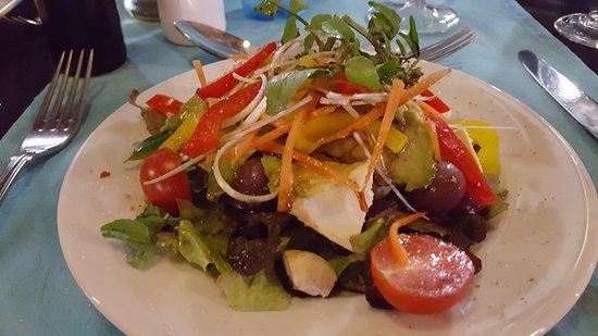 JJ's Restaurant: Vorspeise Salat