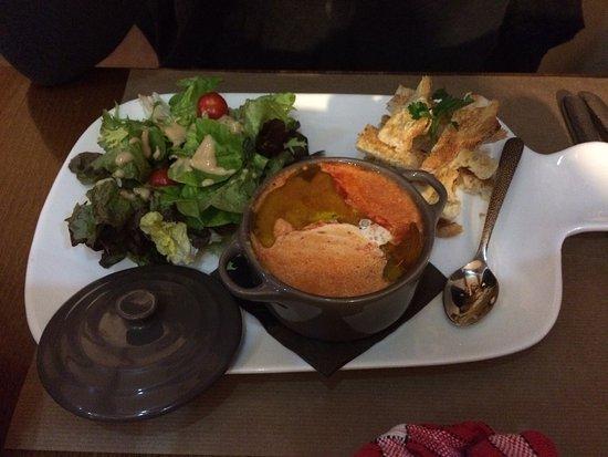 La Chapelle-sur-Erdre, Prancis: Repas et déco originaux!