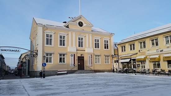Pitea, Sweden: Museum during winter