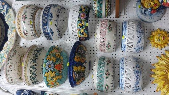 Le ceramiche di vietri picture of vietri sul mare amalfi coast tripadvisor - Ceramiche di vietri piastrelle ...