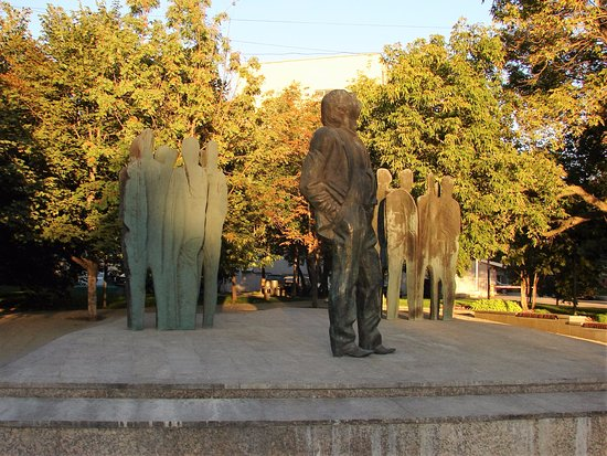 Monument to Joseph Brodsky