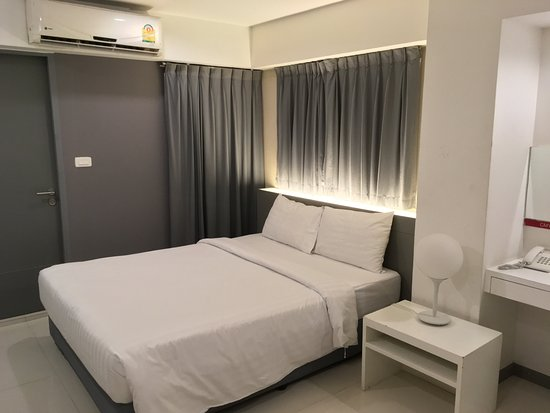 Myhotel Cmyk@Ratchada: Bed is nice