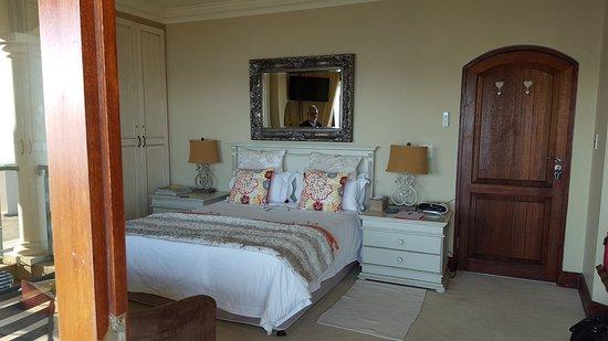 Villa Paradisa Guest House: Blick von der Terrasse ins Zimmer