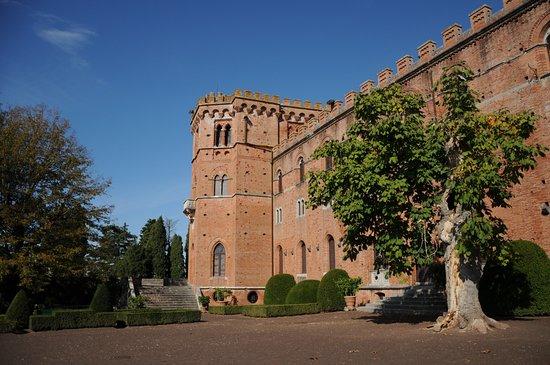Gaiole in Chianti, Italy: the Brolio Castle
