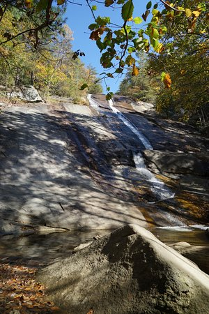 Roaring Gap, NC: Waterfall was not too impressive in October, but still nice