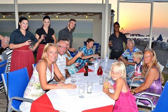 Melina Beach Hotel : Kritsko vece